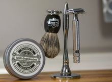Stanley 4pc Safety Razor Set w/ Premium Brush, by KC Shave Co.