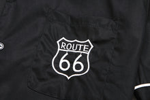 Mens 1950's Bowling Shirt - Route 66