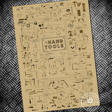 Vintage Poster - Historic Retro Art, Hand Tools, Video Games, Typewriters