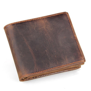 Rawhide Leather Mens Wallet