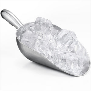 Cast Aluminum Bar Ice Scoop