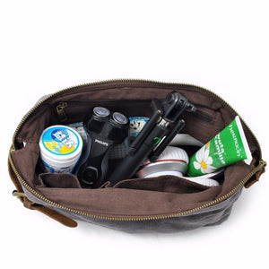 Canvas Travel Dopp Kit - Toiletry Bag