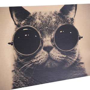 Steam Punk Cat Poster
