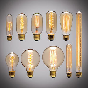 Vintage Edison Filament Light Bulbs