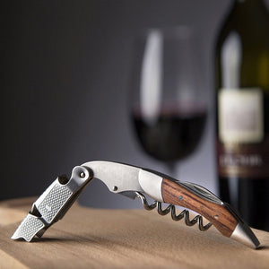 High-Grade Folding Wine Key & Bottle Opener