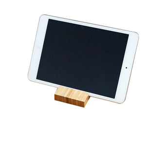 Bamboo Phone & Tablet Stand - Minimalist Design