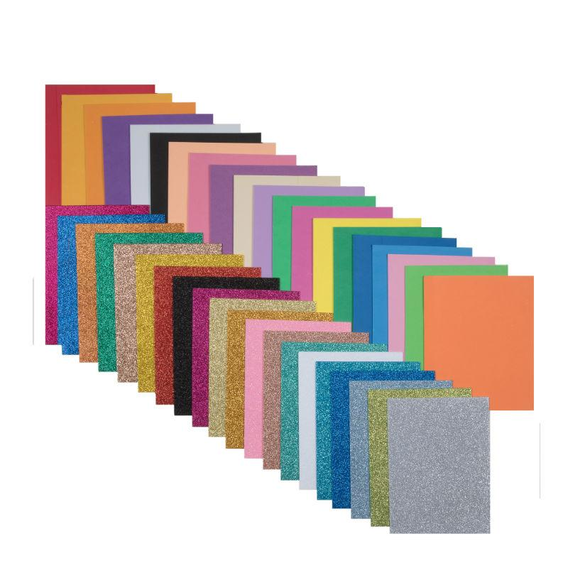 20x A5 Premium FOAM Sheets Assorted Colours Scrapbook Crafts Top Quality From UK