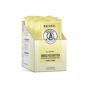 Burn Butter™ - Natural Grass Fed Butter - 1 Box (8 Pouches)