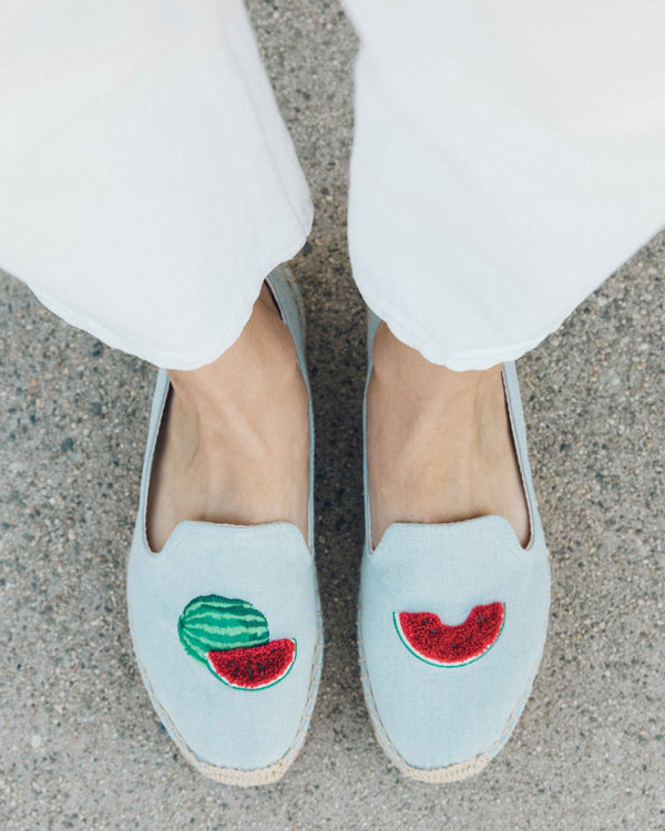 Watermelon Platform Smoking Slipper image