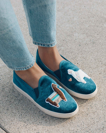 Beaded Elephant Sneaker image