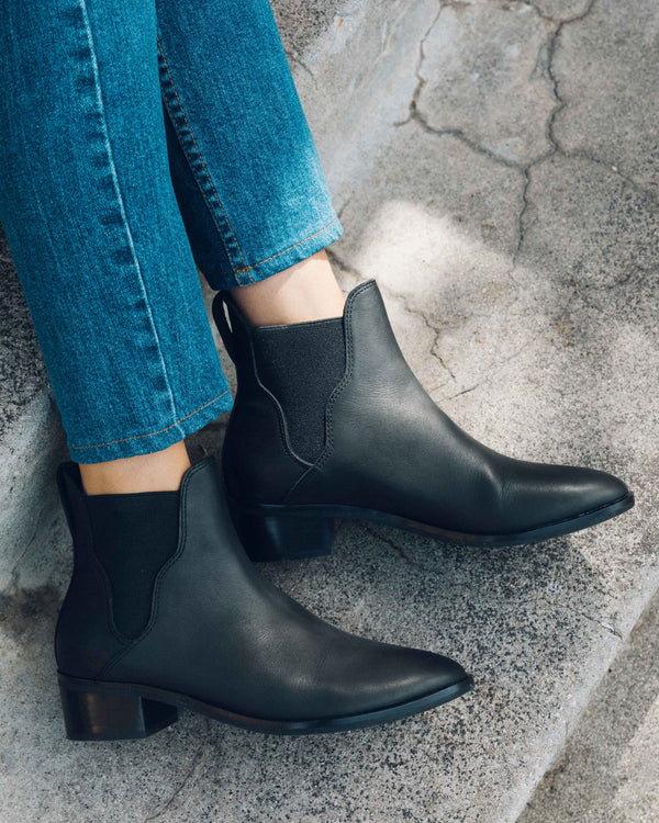Marfa Leather Chelsea Bootie image