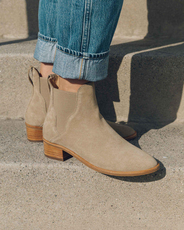 Marfa Suede Chelsea Bootie image