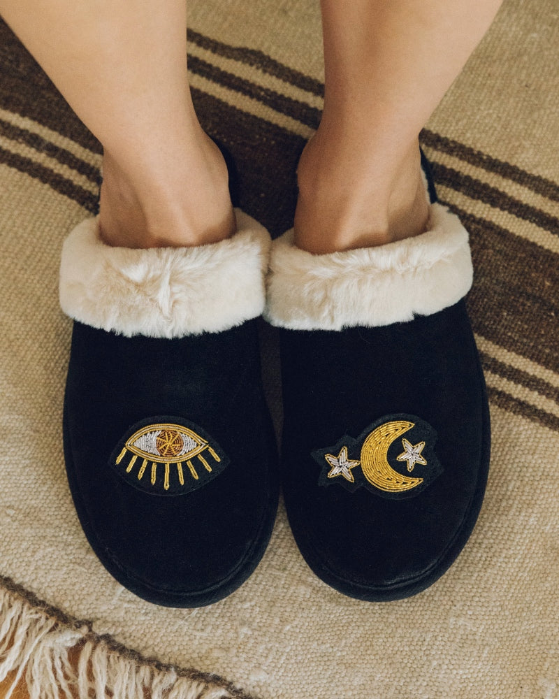 Cozy Slipper black