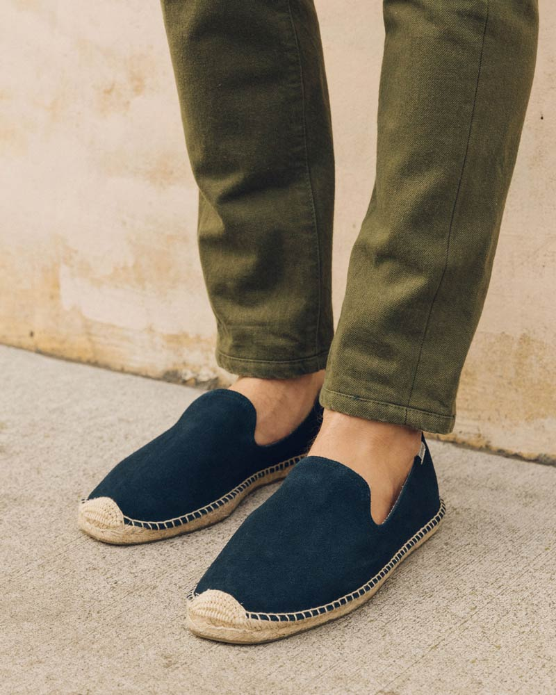 Men's Suede Smoking Slipper