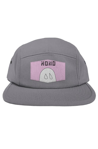Gray Ghosty Boy 5-Panel - Mono - Twin Sixes Limited