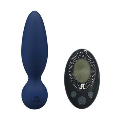 Button plug, vibrator, remote control,  couples, whisper quiet,  carry case, 12 settings.