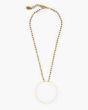 Booster Micro Linkage Circle Necklace