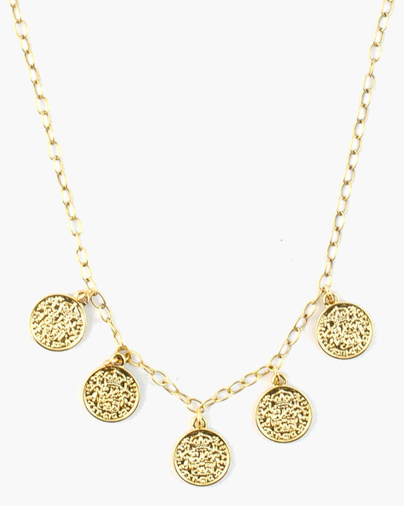 Collins Dainty Coin Necklace