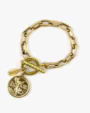 Complication Toggle Coin Bracelet