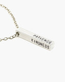 Devotion Custom Stamped Bar Necklace