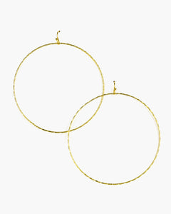 Thin Hoop Earring (ER224)