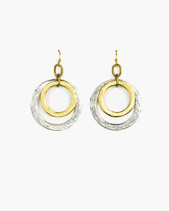 Double Hoop Earring (ER230)