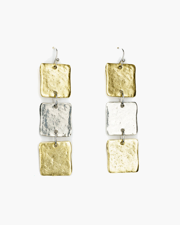 Geometric Dangle Earring (ER239)