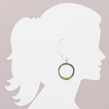 Wire Wrapped Large Hoop Earring (ER272)