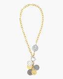 Gravity Toggle Front Coin Necklace