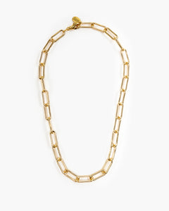 Henri A Short Paperclip Chain Necklace