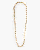 Henri C Long Paperclip Chain Necklace