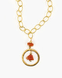 Insatiable Gemstone Pendant Necklace