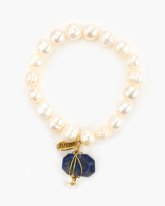Inspiration Pearl Stretch Bracelet