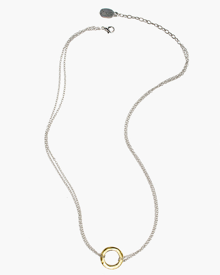 Thera Delicate Ring Necklace