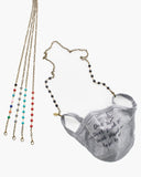 Face Mask Lanyard Holder with Enamel Chain