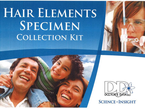 Hair Elements Specimen Test Kit & Analysis