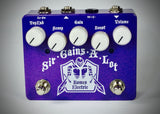 "Sir-Gains-A-Lot ""The Purple"" Drive Pedal"