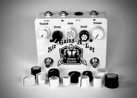 "Sir-Gains-A-Lot ""The White"" Drive Pedal"