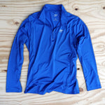 Runyon Men's Cobalt Performance Quarter Zip-Up made in usa fitness wear running hiking yoga outdoors runyon canyon apparel