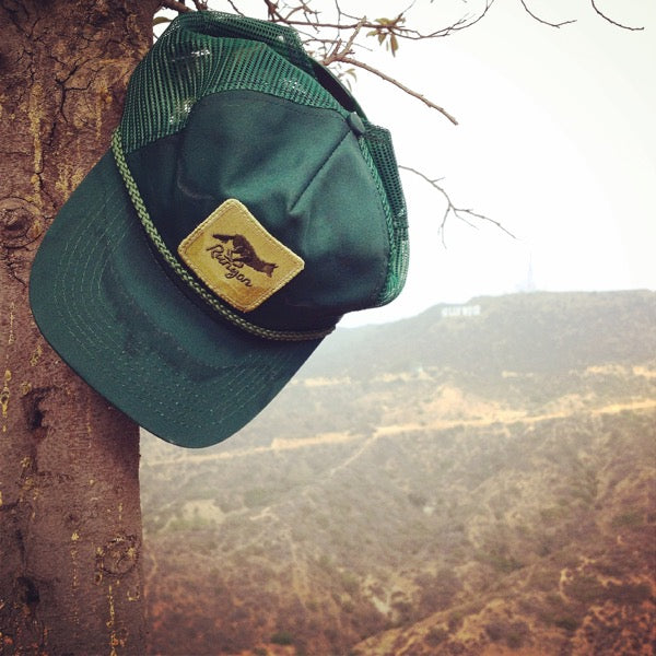 Green Forester Vintage Sweatband Trucker Hat (Limited Edition) 0e2b305402d