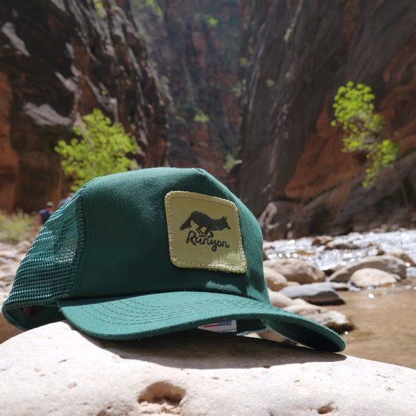 Green Forester Canyon Trucker Hat (Limited Edition)