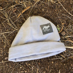 Runyon Cloudy Greystone Performance Beanie made in usa fitness wear running hiking yoga outdoors runyon canyon apparel | Runyon Canyon Apparel
