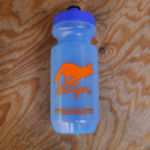 Runyon Hot Royal Citrus Water Bottle made in usa fitness wear running hiking yoga outdoors runyon canyon apparel