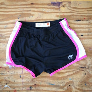 Runyon Women's Hot Pink Panther Performance Shorts made in usa fitness wear running hiking yoga outdoors runyon canyon apparel