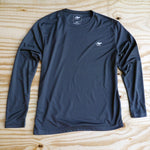 Runyon Men's Graphite Long Performance Trail Shirt made in usa fitness wear running hiking yoga outdoors runyon canyon apparel