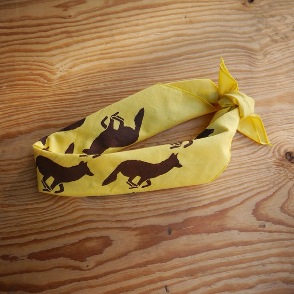 Signature Mellow Yellow Woods Bandana