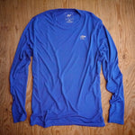 Runyon Men's Royal Blue Long Training Running Shirt  | Made In USA