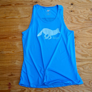 Runyon Men's Signature Amazing Blue Training Singlet made in usa fitness wear running hiking yoga outdoors runyon canyon apparel
