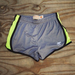Runyon Women's Neon Greystone Performance Training Shorts made in usa fitness wear running hiking yoga outdoors runyon canyon apparel