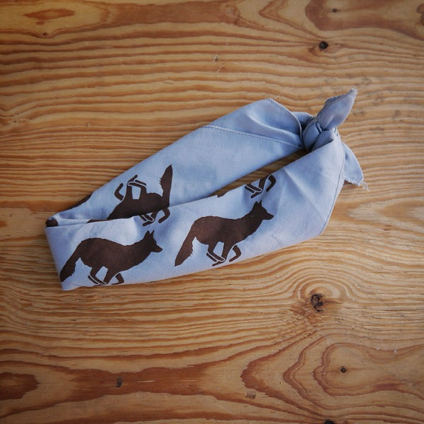 Runyon Gray Woods Signature Bandana made in usa fitness wear running hiking yoga outdoors runyon canyon apparel